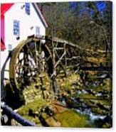 Old 1886 Mill Canvas Print