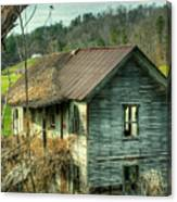 Old Abandoned Home Canvas Print