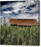 old abandoned house Texico NM Canvas Print