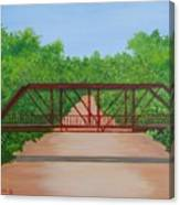 Old Alton Bridge Canvas Print