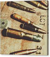 Old Ammunition Canvas Print