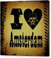 Old Amsterdam Canvas Print