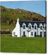 Old And New Iona Architecture Canvas Print