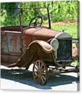 Old Antique Vehicle Canvas Print