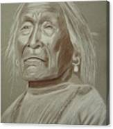 Old Apache Scout Canvas Print