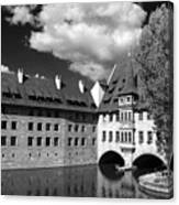 Old Architecture  Nuremberg Canvas Print