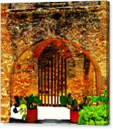 Old Archway  Canvas Print