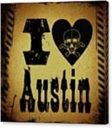 Old Austin Canvas Print