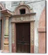 Old Austrian Door Canvas Print