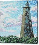 Old Baldy Lighthouse Canvas Print