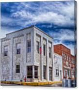 Old Bank Building - Peterstown West Virginia Canvas Print