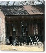 Old Barn-6 Canvas Print