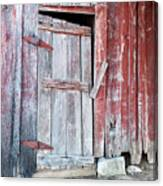 Old Barn Door Canvas Print
