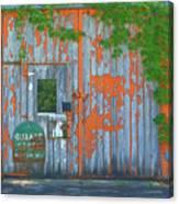 Old Barn Doors  Canvas Print