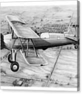 Old Bi Plane Canvas Print