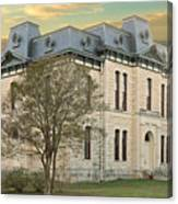 Old Blanco Courthouse Canvas Print
