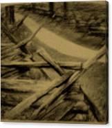 Old Bloody Lane Canvas Print