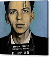 Old Blue Eyes - Frank Sinatra Canvas Print