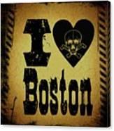 Old Boston Canvas Print