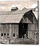 Old Boulder County Colorado Barn Canvas Print