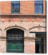 Old Brick Building Canvas Print