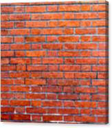 Old Brick Wall Canvas Print