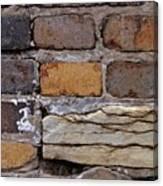 Old Bricks Canvas Print