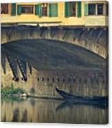 Ponte Vecchio Protection Canvas Print