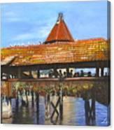 Old Bridge Lucerne  Canvas Print