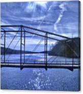 Old Bridge Over The Savannah River 001 Canvas Print