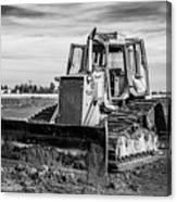 Old Bulldozer Canvas Print