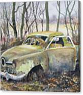 Old Bullet Nose Canvas Print