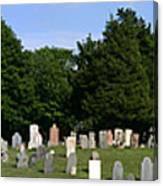 Old Burial Ground Canvas Print