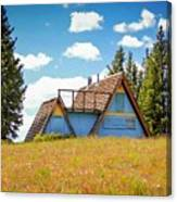 Old Cabin Canvas Print