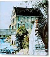 Old Cambridge Mill Canvas Print