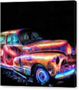 Old Car 2 Canvas Print