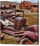 Old Cars Bodie Canvas Print