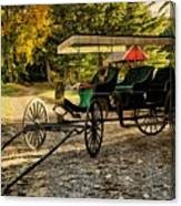 Old Cart - Old Movie Edition Canvas Print