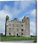 Old Castle In Ireland Canvas Print