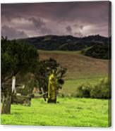 Old Cementery Canvas Print