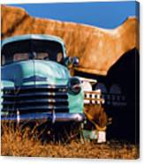 Old Chevrolet Canvas Print