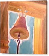 Old Church Bell Canvas Print