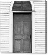 Old Church Door Canvas Print