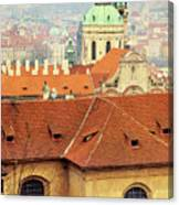 Old Church In Prague Canvas Print