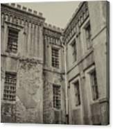 Old City Jail Chs Canvas Print