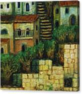 Old City No 2. Canvas Print