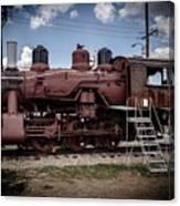 Old Clovis Train Canvas Print
