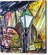 Old Coffeepot Gumbo Canvas Print