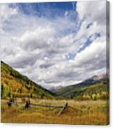 Old Colorado Canvas Print