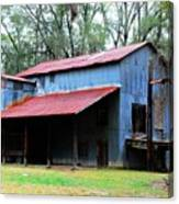 Old Cotton Gin 02 Canvas Print